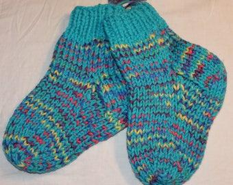 Cozy knitted Slipper socks