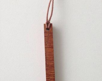 Necklace   Highly figured Blackwood