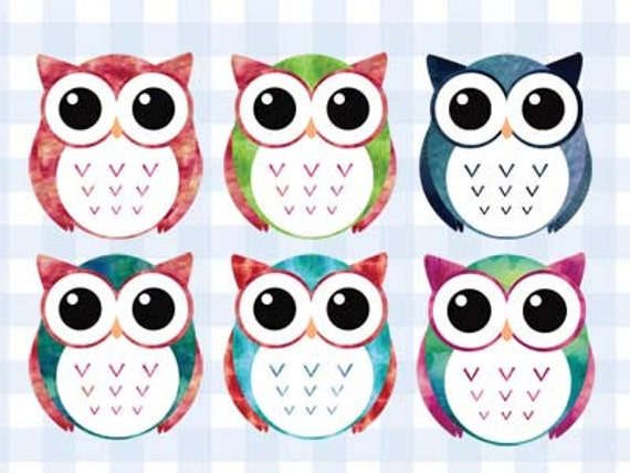 Items similar to sale owl clipart cute colorful watercolor items similar to sale owl clipart cute colorful watercolor printable no credit vector birthday card sticker on etsy bookmarktalkfo Choice Image