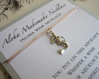 Aloha Wish Necklace - Mermaid