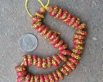 African Krobo Beads: Short Strand