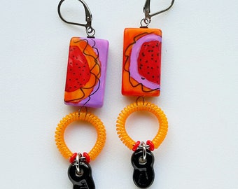 berry burst earrings