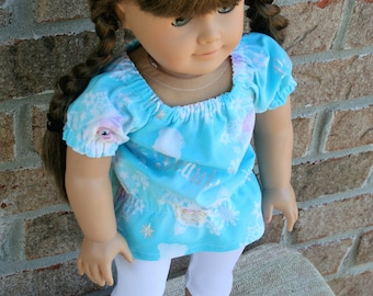 18 Inch Doll Clothes, Leggings and Tunic