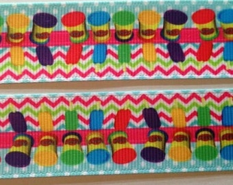 Play-Doh grosgrain ribbon 1""