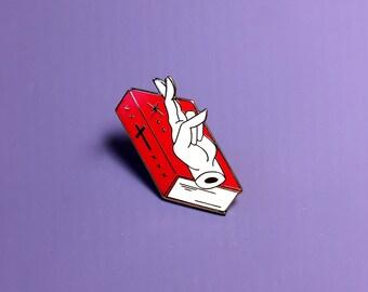 Broken Oath Enamel Pin