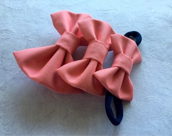 Bubble Gum Fabric Hairbow