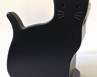 "SALE Two Roll Washi Tape Dispenser/Organizer ""Mas Cut"" Small ""Black Cat"""