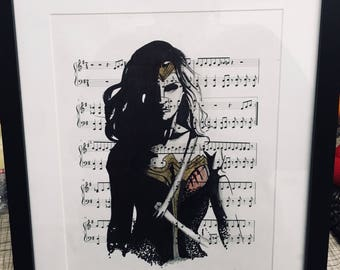 Wonderwoman art