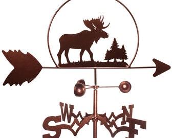 Hand Made Moose Wildlife Weathervane NEW