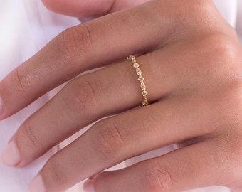 Gold Band Ring, Band Ring, Minimalist Ring, Gold Ring, Dainty Ring, Ring, Stackable Ring, Midi Ring, Gold Stacking Ring, Band Ring Gold