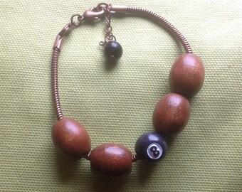 Lucky 8 Ball Bracelet, 8 Ball Bracelet, Lucky Bracelet, Good Luck Bracelet, Gift for Pool Player