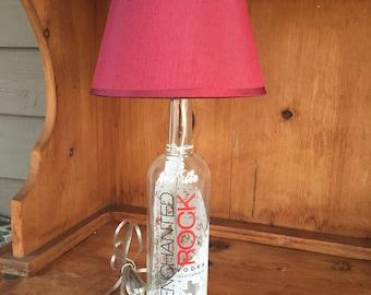 Enchanted Rock Vodka Bottle Lamp (750ml Bottle)