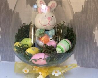 Bunny decoration, Spring table centerpiece, summer table decoration, Spring decoration