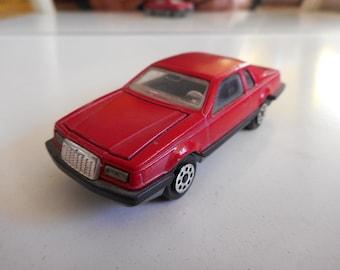 Majorette Ford Thunderbird in Red