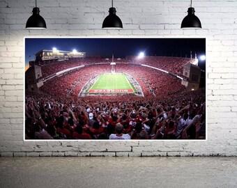 Ohio State Stadium Gorgeous Canvas Print Large 36 x 20 The Ohio State