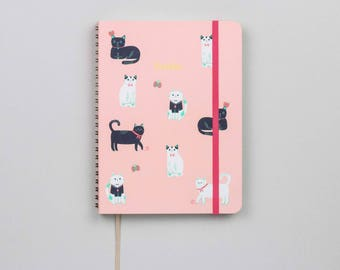 Cats Pink Academic Planner (Aug 2018–Jul 2019)