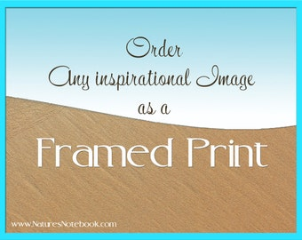 Custom Framed Photo Print, Order any Image as a Framed Print, Ocean Wall Decor, Framed Artwork - Large Prints