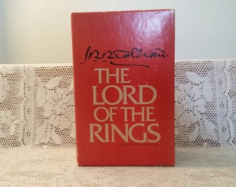 Lord of the Rings VIntage Book Set
