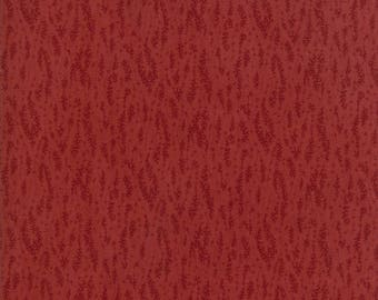 Moda HARVEST HILL Quilt Fabric 1/2 Yard By Kansas Troubles Quilters - Red 9557 13