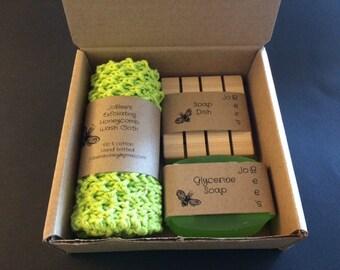 JoBee's Honeycomb Washcloth Gift Set