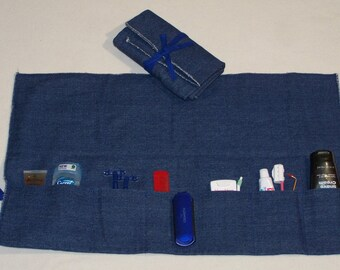 TOILETTE ROLL-UP  for Camp or Picnic