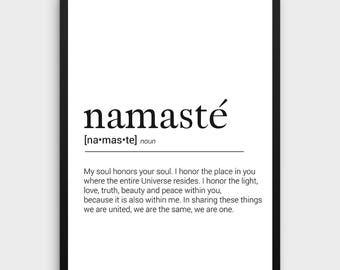 Yoga Namaste traduction