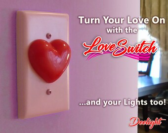 Love Switch Light Switch Plate