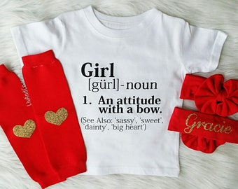 Baby Girl Clothes, Coming Home Outfit, Baby Shower Gift, Newborn Girl Outfit, Baby Headband, Leg Warmers, Toddler Girl Outfits, © Liv & Co.™