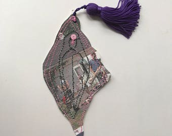 Pussy bookmark, bookmark, vagina, vulva, feminist art, art