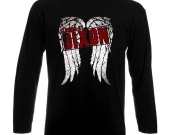 Inspired By The Walking Dead Claimed By Daryl Dixon Long Sleeve T-Shirt