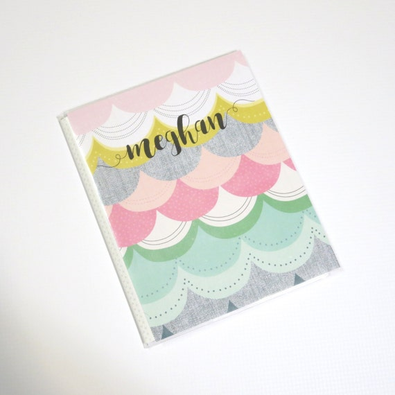 Large Personalized Planner Sticker Album Book Inkwell Press