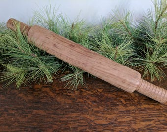 Large Primitive Wooden Rolling Pin