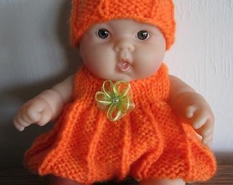 Knitting Pattern Berenguer Baby Doll Chevron Matinee Set For