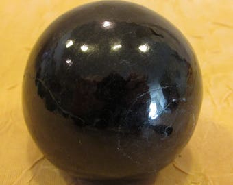 Black Tourmaline Sphere (small)