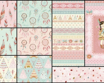 Dream Catchers Cotton Fabric by Studio E! 9 Options! [Choose Your Cut]