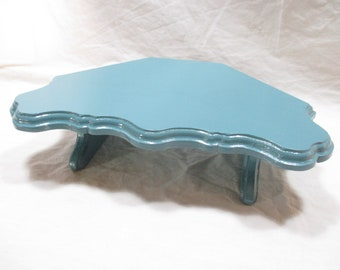 Elegant Monitor Stand, Corner Variation~ Painted