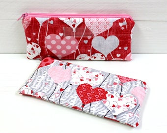 Valentine Cash Envelope - Wedding or Anniversary - Cash Budget System - 1 Cash Budget Envelope with Zipper Closure - Ready to Ship