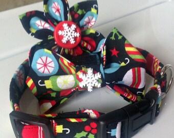 Christmas Ornament Cat or Dog Collar