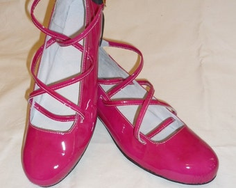 Lace Up Ballet Flats, made to order in your size
