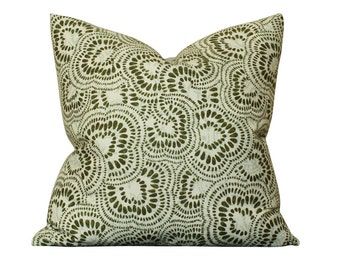 Tilton Fenwick Jax Pillow Cover in Green