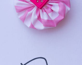 Pink Candy Cane Bows