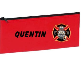 Red fireman personalized with name package