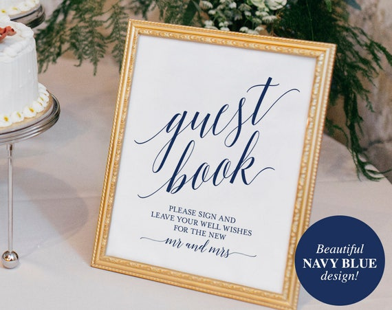 Wedding Guest Sign Elitamydearestco