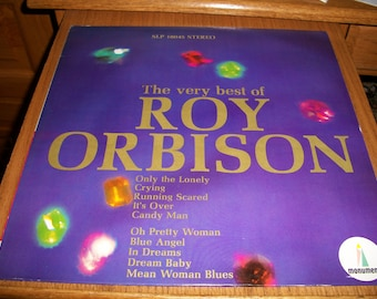 Roy Orbison, The Very Best Of Roy Orbison LP, SLP 18045 Stero, 1960s Music by Nanas Vintage Shop on Etsy