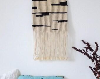 Macrame wall / wall hanging macrame wall decor wall macrame/tapestry / weaving modern/modern Bohemian macrame/decor/Decoration