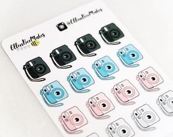 Instant Camera Stickers