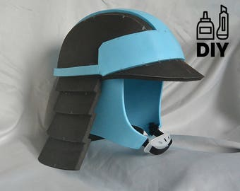 DIY Star Wars: The Last Jedi - Canto Bight Police helmet template for EVA foam