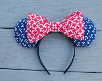 Nautical Mouse Ears