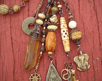 The Shaman's Song Amulet Necklace