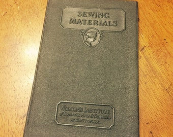Woman's Institute of Domestic Arts & Sciences Sewing Materials